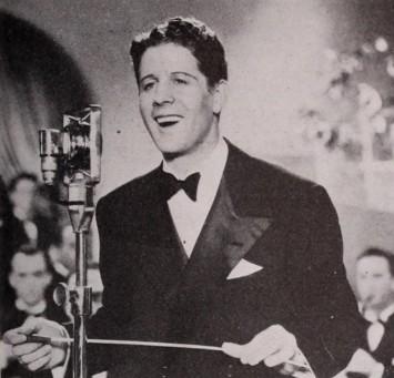 レコード歌手、ラジオの司会者、映画俳優と、マルチに活躍したルディ・ヴァリ