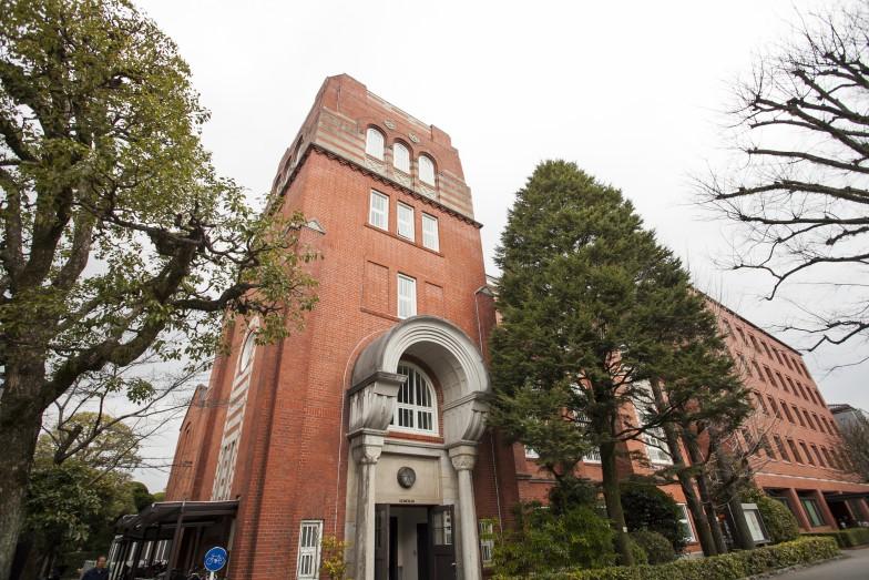 ヴォーリズが設計した啓明館。今出川キャンパスにはこの他4棟のヴォーリズ建築が残っている