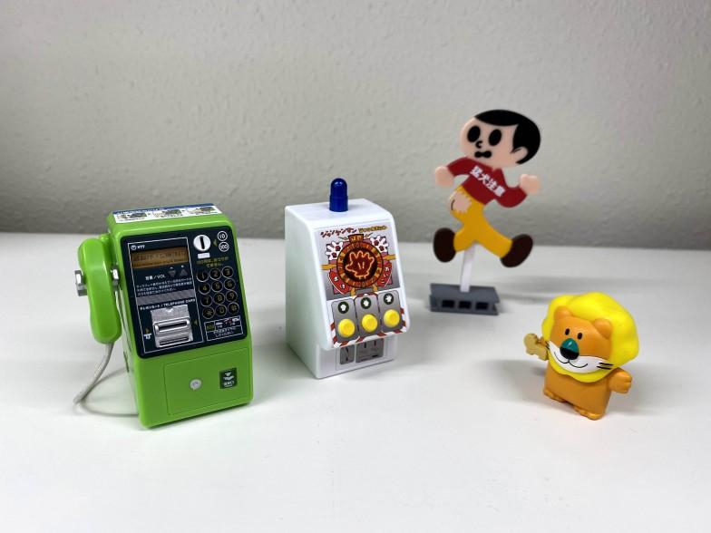 食玩やカプセル玩具は、プラモデルと共通する技術を使いつつ、多くの人が手を出しやすい商品