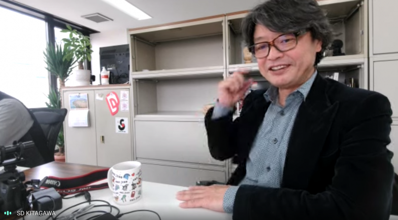 テラスペース株式会社代表取締役の北川貞大さん