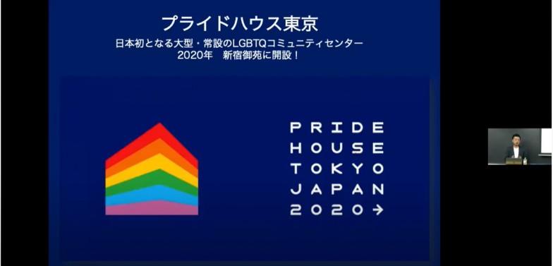 杉山さんが紹介した「プライドハウス東京」はセクシュアル・マイノリティや多様性に関する情報発信を行う施設。アスリートやその家族や友人、観戦者や地元の参加者が、自分らしく、多様性をテーマとした大会を楽しめるように活動するとともに、次世代の若者が安心して集える常設の居場所づくりに取り組んでいる