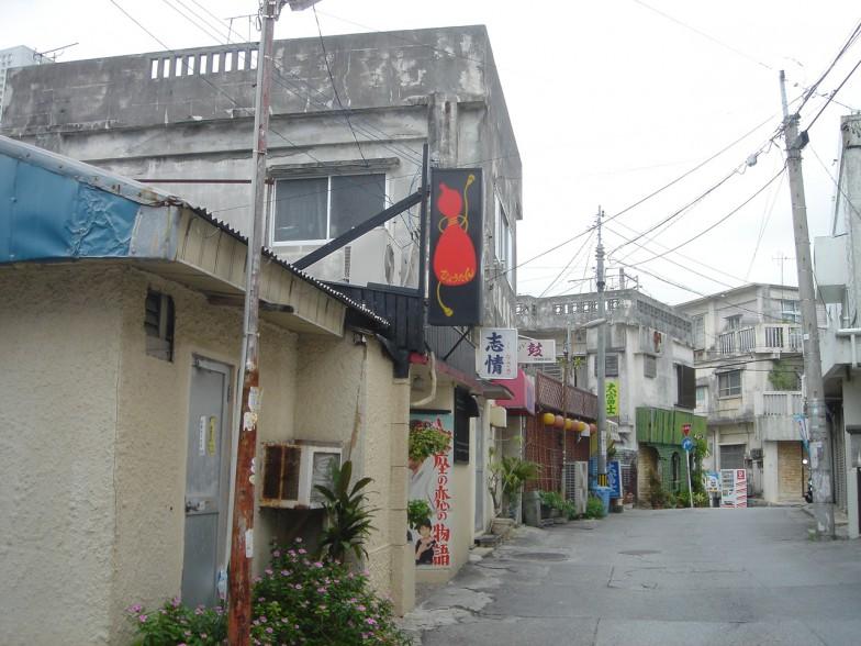 那覇市内の景観