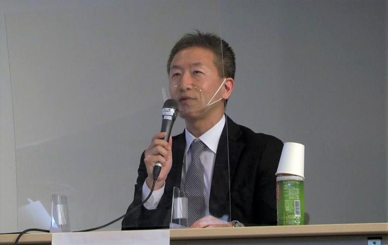 京都市で観光行政に携わる秋山正俊さん